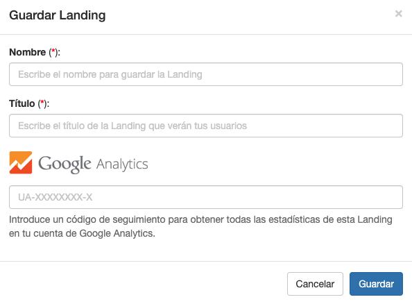 Recuerda poner el código de Google Analytics en tus Landings - INNOVA360