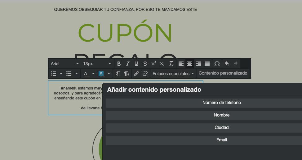 Añade campos personalizados en tus campañas de email marketing - INNOVA360