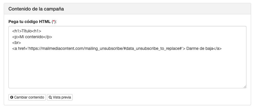 Añade tu propio HTML en campañas de email marketing - INNOVA360