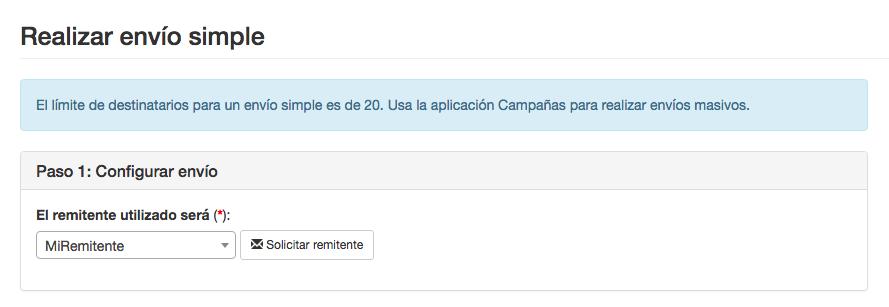 Configuración envíos simple INNOVA360